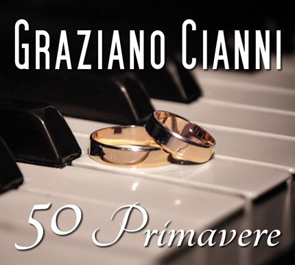 "Grafica per l'album ""50 Primavere"", di Graziano Cianni, in collaborazione con DL Multimedia"